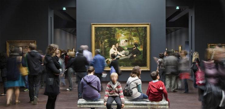 Musée d'Orsay • Le Déjeuner sur l'herbe